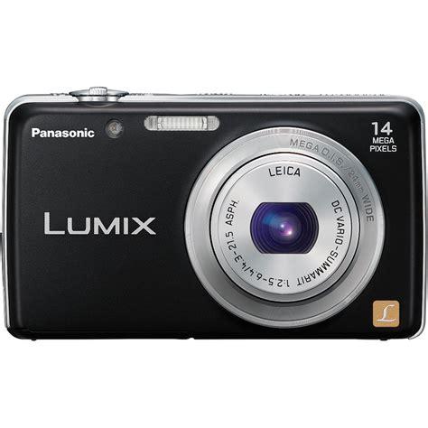 format video lumix panasonic lumix fh6 digital camera black dmc fh6k b h photo