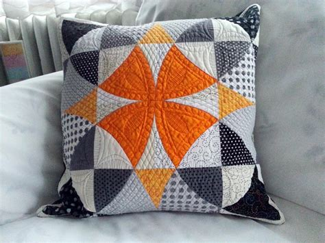 Quilt Pillow by Modern Quilted Pillow Decorative Pillow