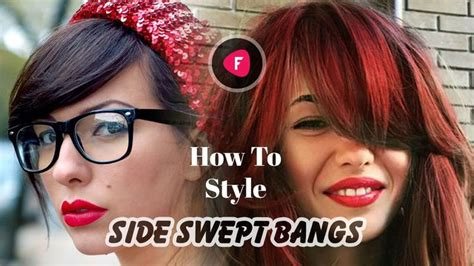 best way to part side swept bangs for oval faces best 20 side part bangs ideas on pinterest new simple