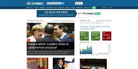 press releases cnbc stock markets business news new update stock markets business news financials earnings cnbc