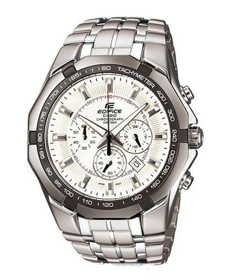 Casio Edifice Ef 259 Silver White casio edifice chronograph ef 540d 7avdf ed373 s