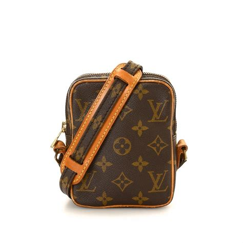 louis vuitton mini danube monogram coated canvas