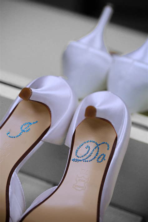 i do slippers i do shoe stickers in blue i do wedding shoe stickers