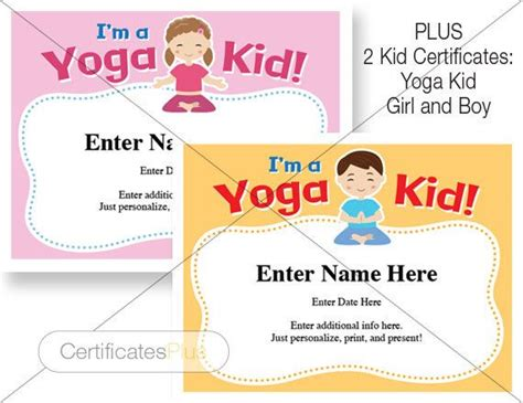 yoga gift certificate template free new best of template for gift