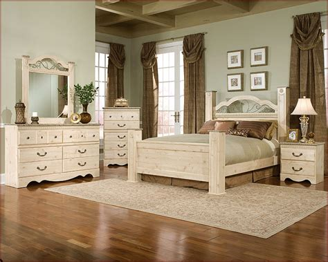 standard furniture poster bedroom set seville st 6400set