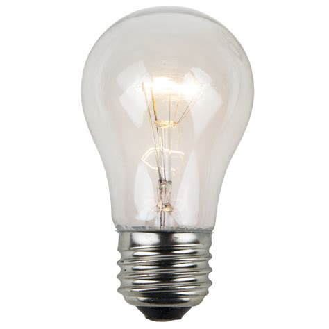 Light Bulbs by E26 And Sign Bulbs A15 Transparent Clear 15 Watt