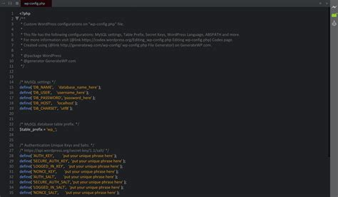 wp config wp config noupe
