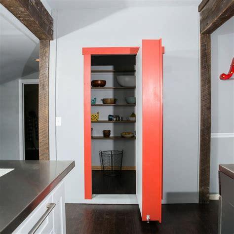 36 Wide Bookcase Flush Mount Cabinet Door Package Hidden Door The Murphy Door