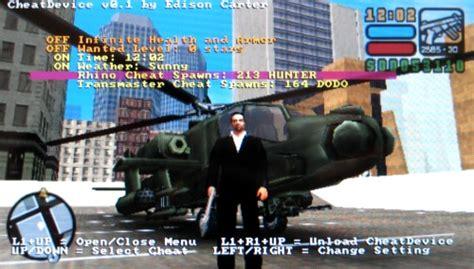 trucchi grand theft auto liberty city stories psp macchine volanti gta lcs trainer for psp 1 0d f