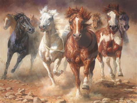 painting workshop horses greenwich workshop bonnie marris