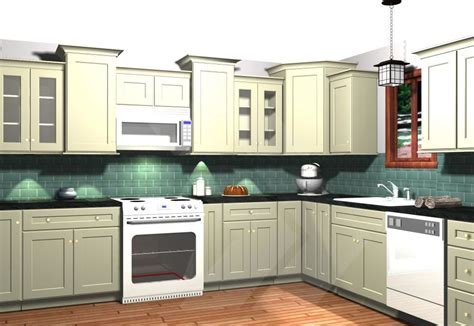 Kitchen Cabinets Different Heights Vary Height And Depth Of Cabinetry Consider This Layout Only Flip Flopped Kitchen Design