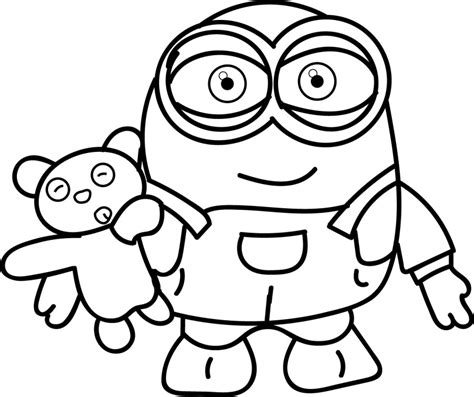 Minion Coloring Pages Best Coloring Pages For Kids Colouring Sheets For Children Printable