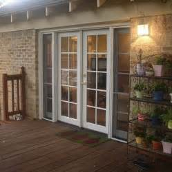 exterior patio doors screen for the home