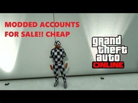 gta 5 modded accounts for sale showcase [read description