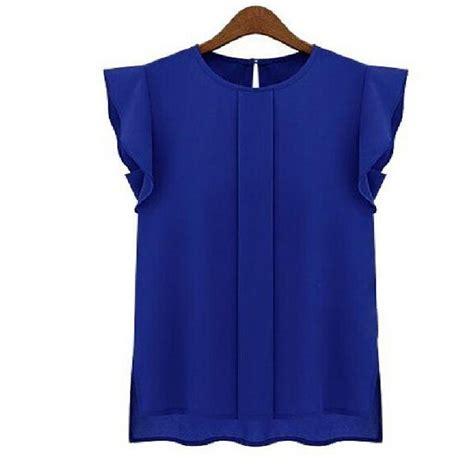 shirt summer korean fashion work sheer blouse