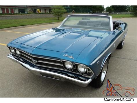 69 chevelle seats 1969 chevelle quot ss quot convertible four speed restored