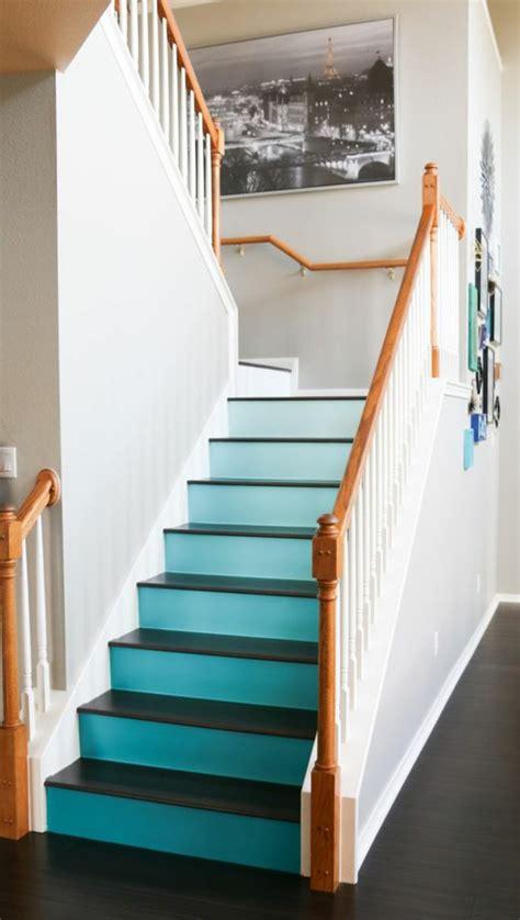 Treppenhaus Gestalten Farbe by 50 Bilder Und Ideen F 252 R Treppenaufgang Gestalten