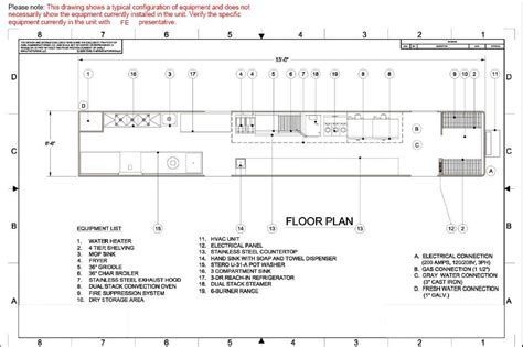 kitchen layout sheet list equipment for restaurant interior home page