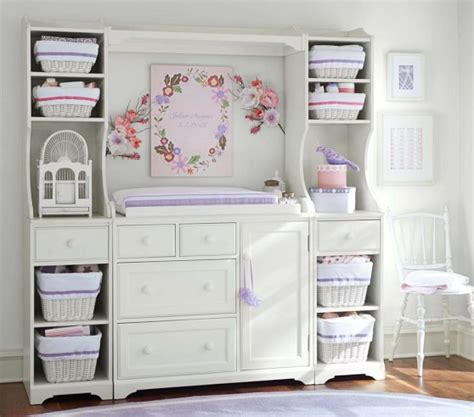 Madison Changing Table System Pottery Barn Kids Pottery Barn Changing Table
