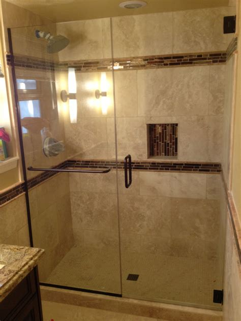 Stand Up Shower Glass Door Bathroom Stand Up Shower Lowes Sliding Glass Doors For