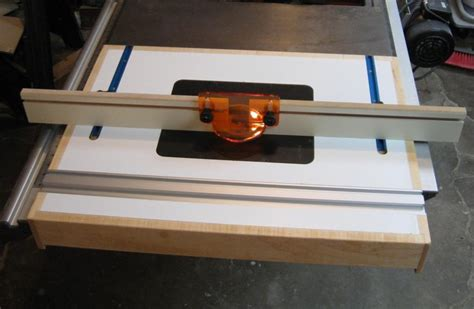Ridgid Table Saw Extension by Tablesaw Router Extension By Gadgetxx Lumberjocks