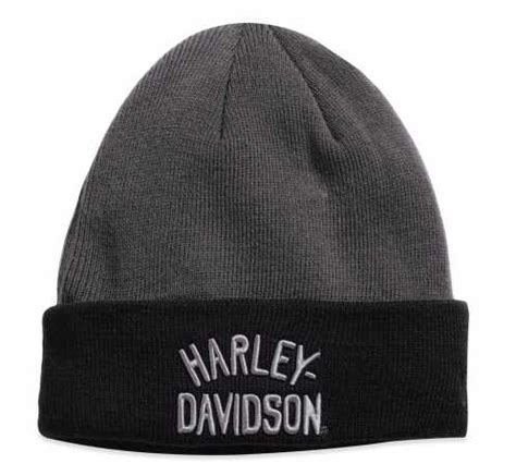 harley davidson knit hat 97651 17vm harley davidson knit hat quot colorblock cuffed quot at