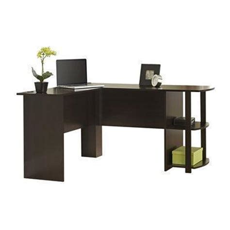 L Shaped Desk With Shelves Ameriwood Office L Shaped Desk With Shelf Best Price