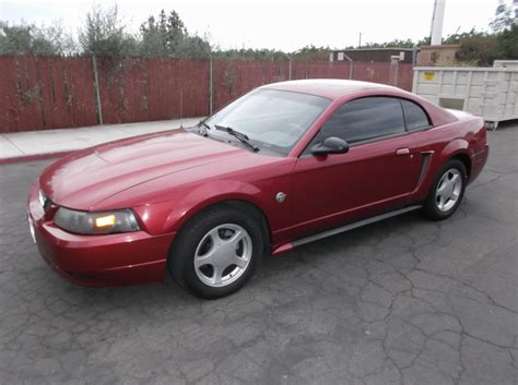 2004 ford mustang 40th anniversary edition valued at
