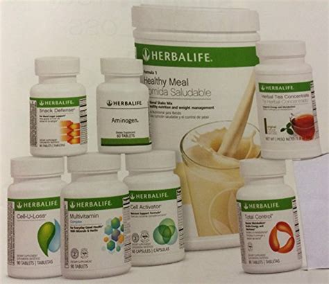 Original Thermo Tea Shake herbalife ultimate program vanilla