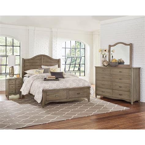 johnny janosik bedroom furniture vaughan bassett american maple solid wood queen shiplap