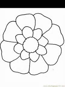 Spring Flower Coloring Page Az Coloring Pages