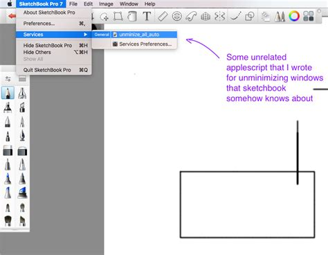 sketchbook pro keyboard shortcuts applescript how do you assign a keyboard shortcut or