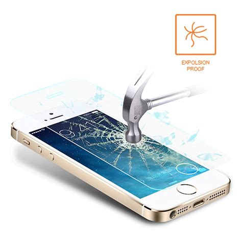 genuine tempered glass lcd screen protector film