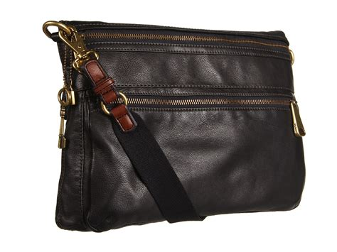 Fossil Wallet Explorer Black fossil explorer tote in black lyst