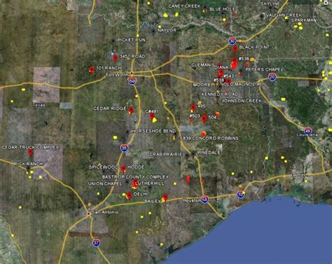 texas wildfire map update on fires in texas sept 6 wildfire today
