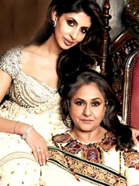 sindhi film stars in bollywood shweta and jaya bachchan sisters mother