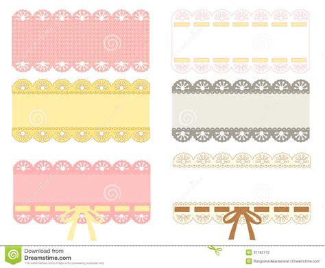cute lace pattern stock illustration image of beautiful