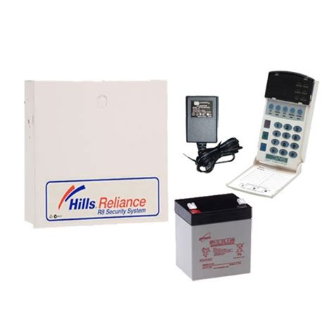 hills reliance r128/nx16 alarm system (s8207k) | home