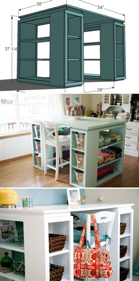 Turn Bookshelf Into Desk by 17 Best Ideas About Craft Tables On Desk Ideas