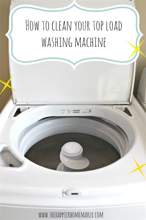 How To Clean A Washing Machine Cleaning The Inside Of | how to clean washing machine ikea decora