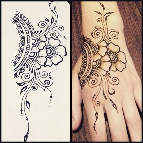 henna tattoo designs for ribs 25 best ideas about henna flowers on henna