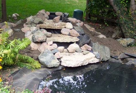 Hints Waterfall How To Build A Backyard Pond And Waterfall