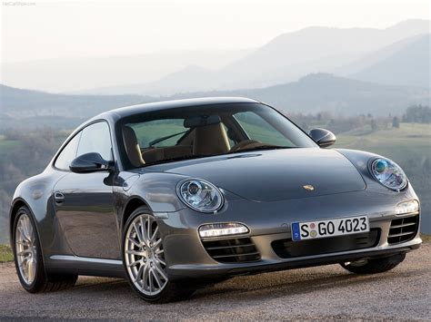 2009 Grey Porsche 911 Carrera 4 Wallpapers