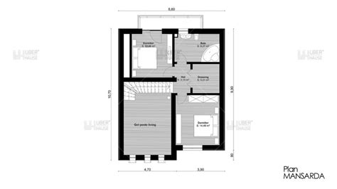 house plan with attic four room attic house plans plenty of space houz buzz