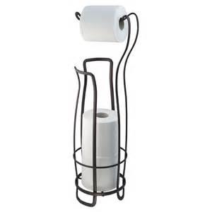 paper stand holder new toilet paper holder storage metal freestanding