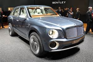 The Bentley Cars Model 2013 2014 2015 Bentley Suv Given Green Light