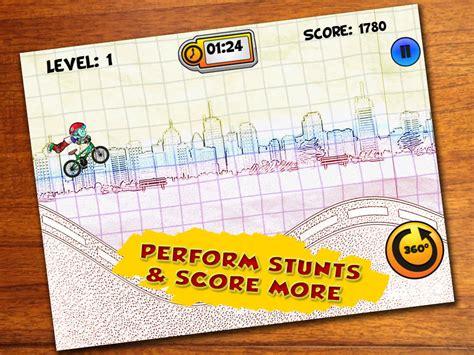doodle rider app shopper a pumped stickman doodle bmx rider