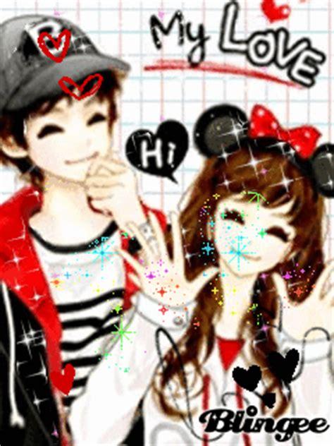 gambar wallpaper couple bergerak gambar animasi bergerak romantis korea couple