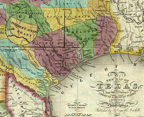 early texas map 17 texas revolution mexican war history hub