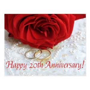 a happy 20th wedding anniversary cards invitations photocards more